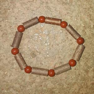 Bracelet Simple Jaspe Rouge