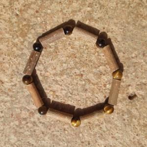 Bracelet Simple Œil de Tigre