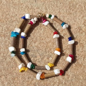 Collier Coquillages Chakras