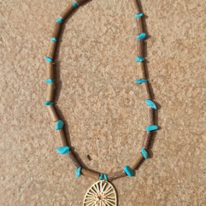 Collier Turquoise Création