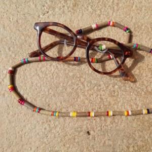 Cordon lunettes Heishi Multicolore