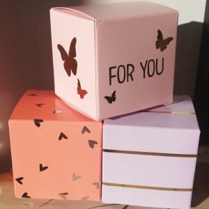 Grandes boites pour cadeaux