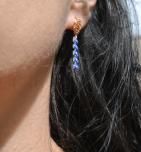 boucles d oreilles epi bleu bod (Copier)
