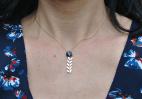 collier epi dore et swarovski bleu 4 (Copier)