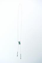 sautoir argente peyote bleu (Copier)