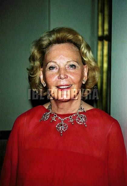 Marianne Bernadotte 2001 (c) Per Hessman / IBL