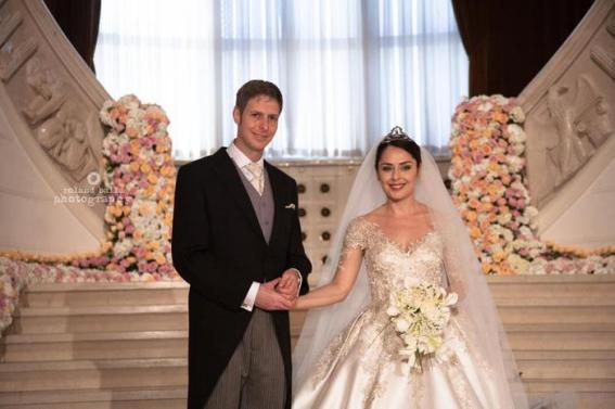 Tirana, 08-10-2016 Hochzeit Wedding of Crown Prince Leka II of Albania and Crownprincess Elia Zaharia in Tirana POOL/Eduard Pagria/RPE/AlbertNieboer Poolfotos