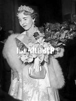 Queen Ingrid of Denmark (1910-2000) here in Paris on april 23, 1955 Foto: Rue des Archives / IBL Bildbyrå