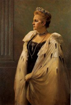 1915 Queen Olga of Greece, by Georgios Jakobides 1