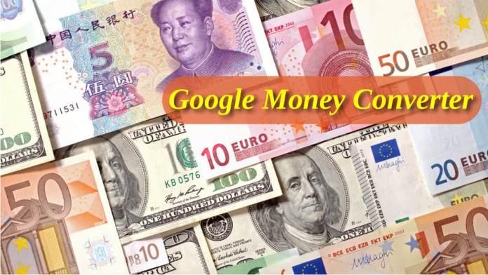 Google Money Converter