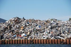 Ziek door werk in de afvalverwerkende industrie