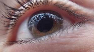 Bij oogziekten aan werk denken