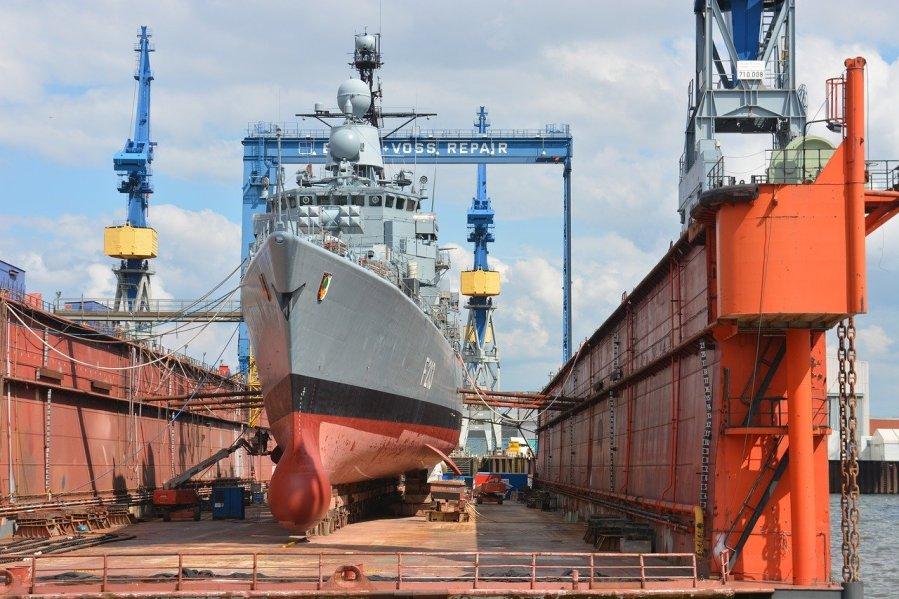 Pneumokokken ziekten op scheepswerf