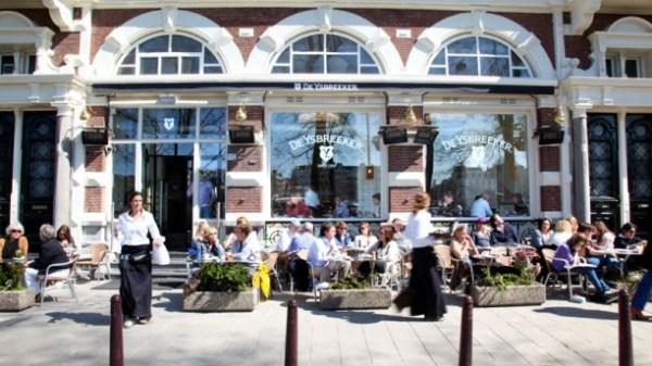 Restaurant De Ysbreeker in Amsterdam