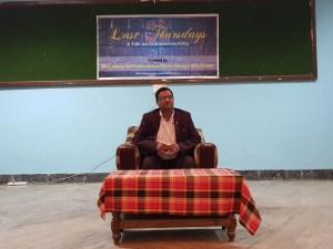 Last Thursdays with Mukesh Upadhayay Bhattarai