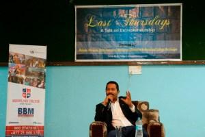 Last Thursdays with Manoj Bikram Shah