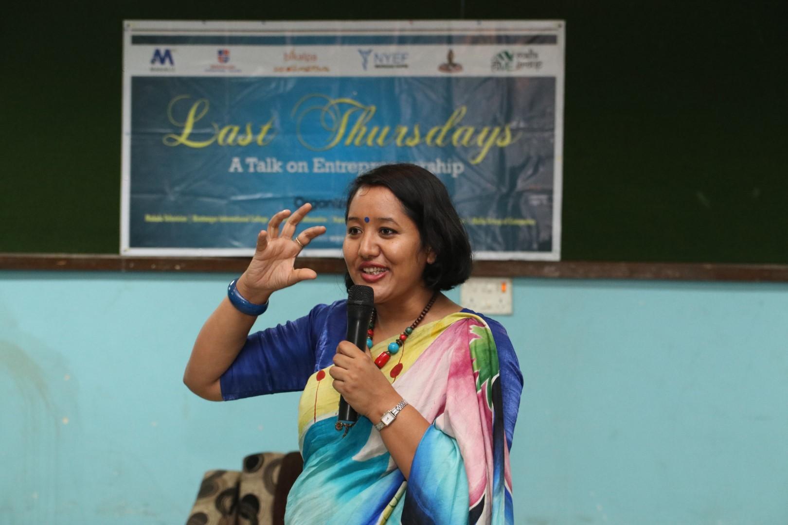 """Last Thursdays with """"Sunita Nhemaphuki """""""