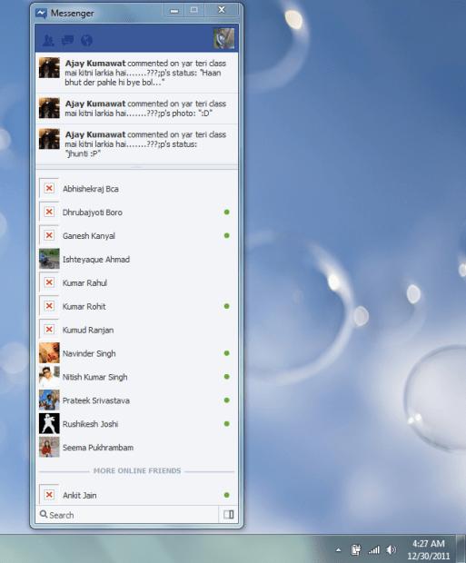 Messenger Windows