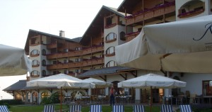 View of Kempinski Bansko
