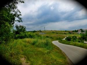 winding road to Arbanasi