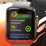 Exercising with Apple Watch