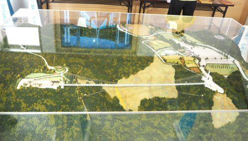 三島スカイウォーク模型