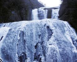 袋田の滝 冬 氷爆