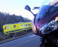 いすみ鉄道 バイク