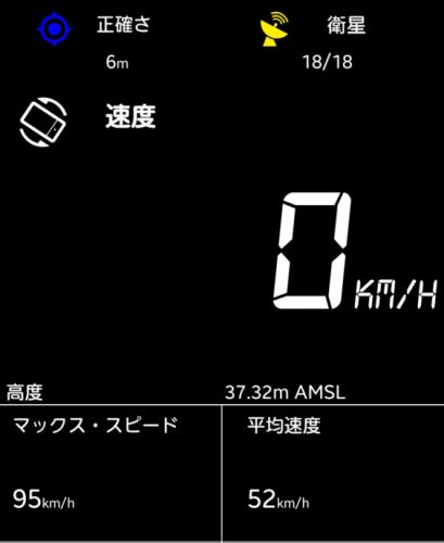 スマ アプリ スピードメーター 正確