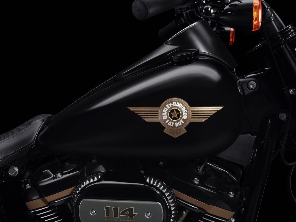 Harley-Davidson Fat Boy 30th Anniversary. Speciální limitovaná série v číslované edici