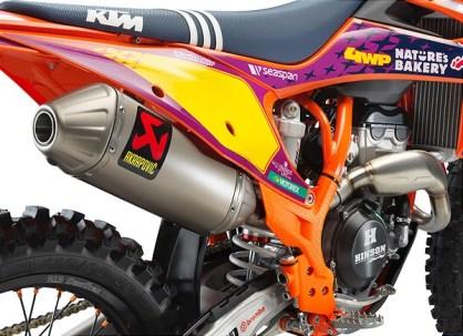 KTM 250 SX-F TLD Studio Detail Akra