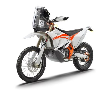 KTM 450 RALLY FACTORY REPLICA left front MY22