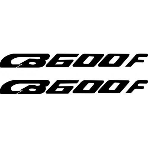 Honda CB600F decals