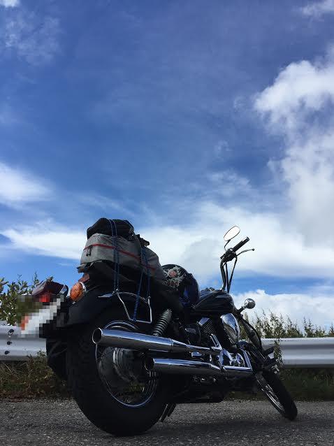 ドラッグスター250 アメリカン バイク オートバイ 空 ヤマハ