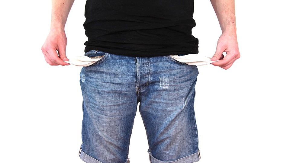 金銭的問題 お金がない