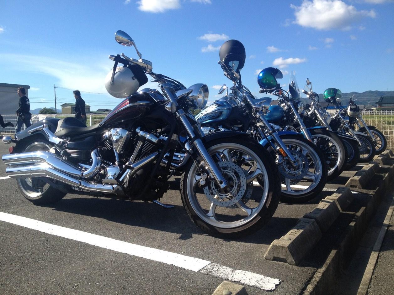 アメリカンバイク 琵琶湖 ツーリング 大型クルーザー ハーレー