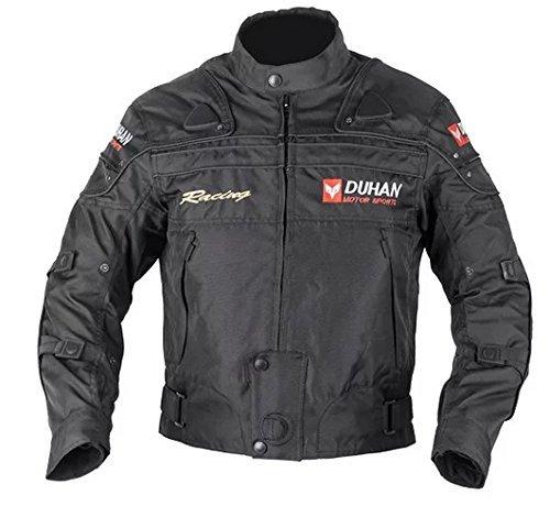 DUHAN(ドゥーハン) バイクジャケット プロテクター付 ライディングジャケット