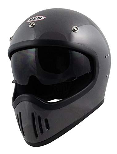 TNK工業 B-80 BEN フルフェイスヘルメット クラシックグレー