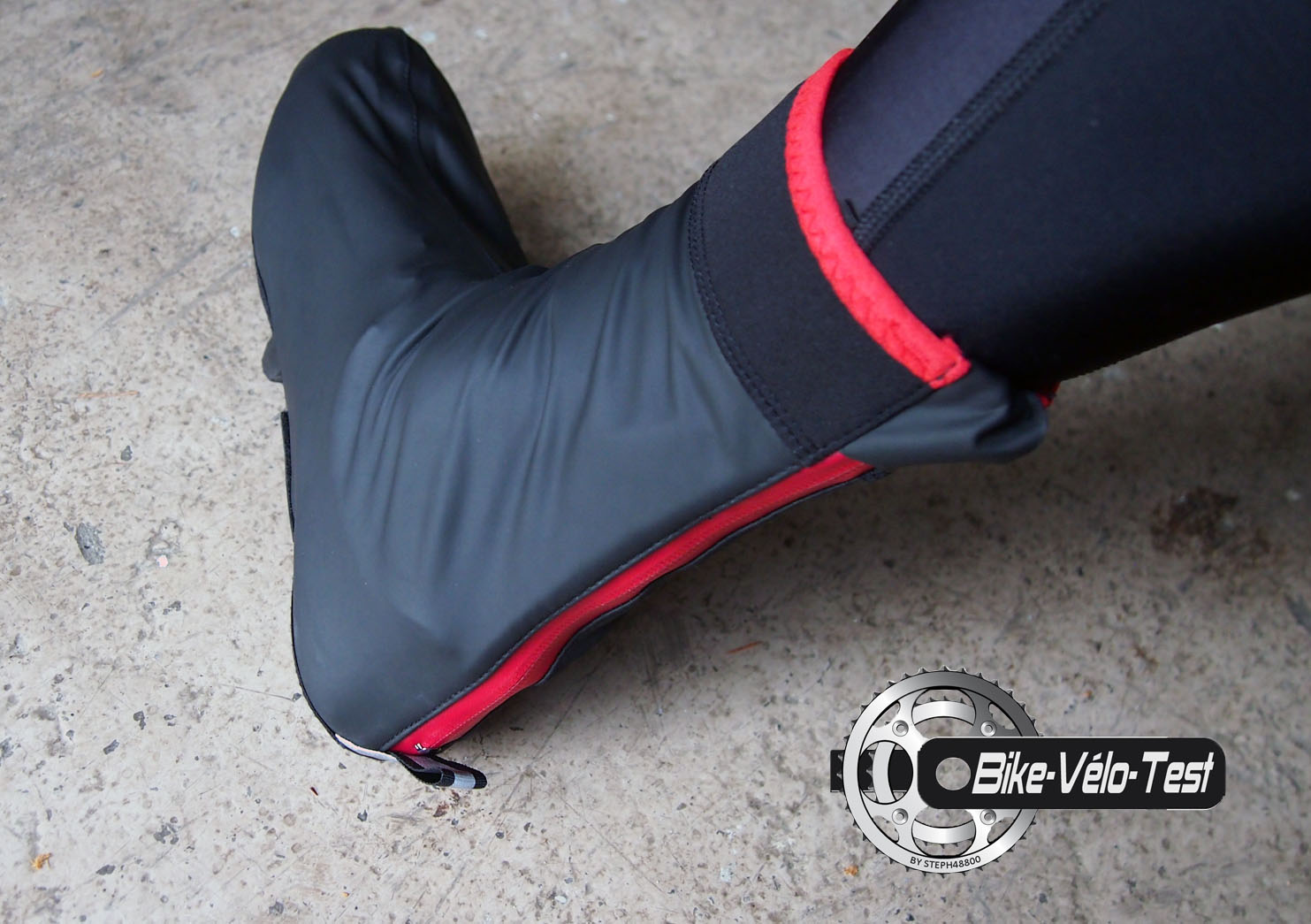 Test des surchausures Sealskinz néoprene Halo – Bike Velo Test