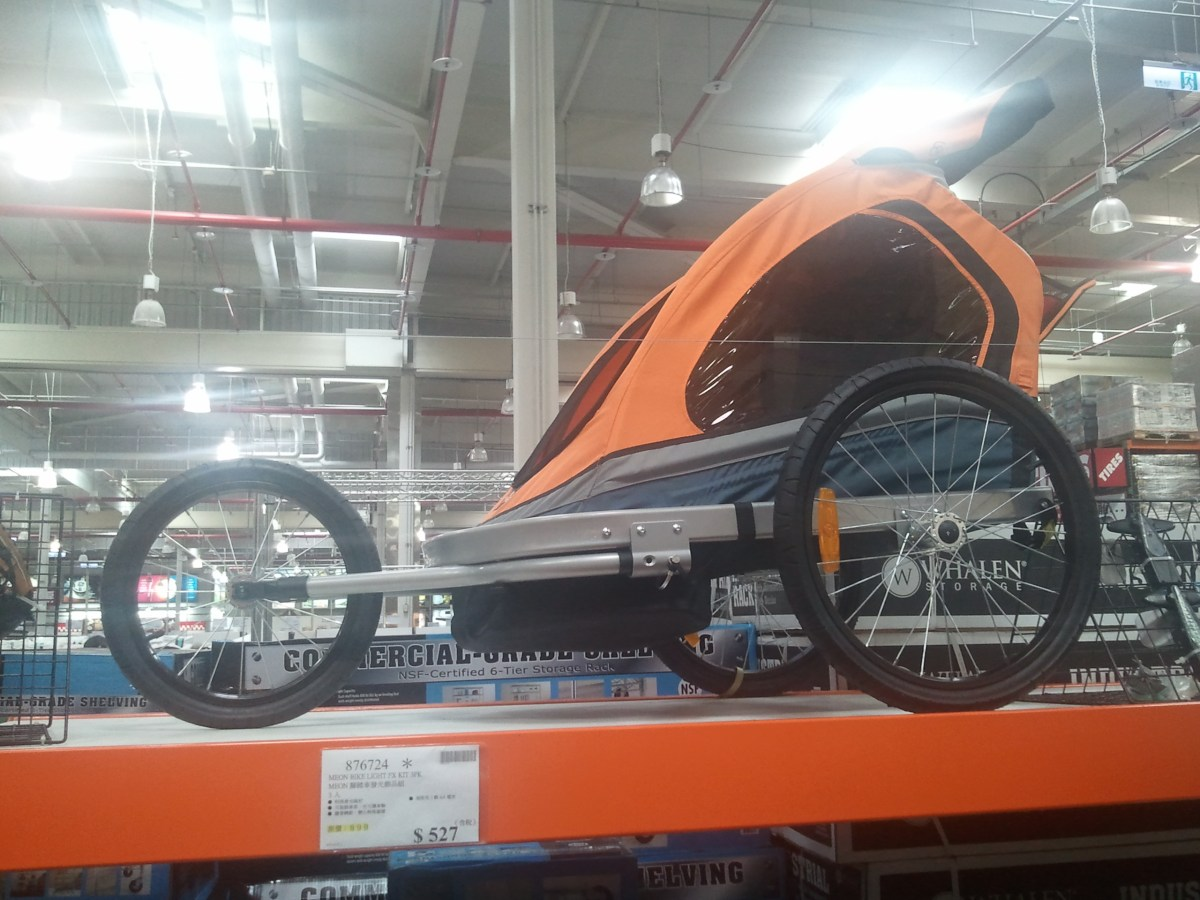 Costco Bike Trailer