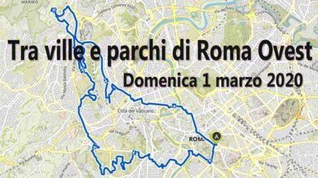 Tra ville e parchi di Roma Ovest