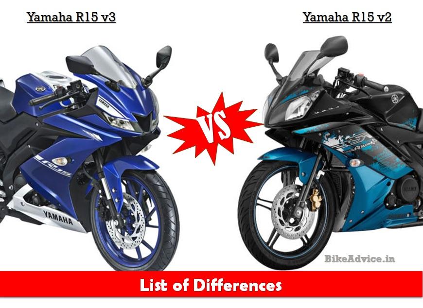 yamaha r15 v3 vs