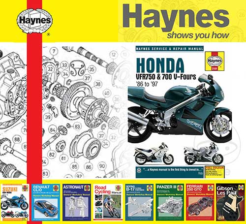 hight resolution of details about haynes service repair manual for honda vfr