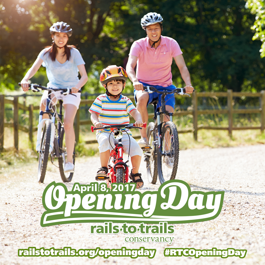 Celebrate Opening Day for Trails on April 8th
