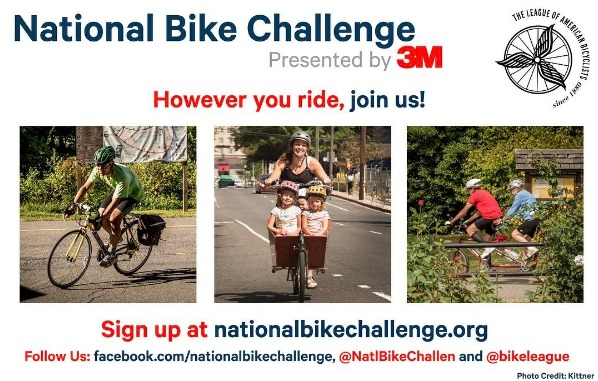 National Bike Challenge: June 2017