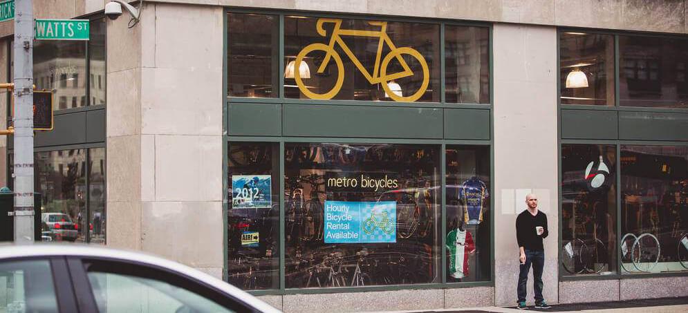 Bike & Roll Hudson Square