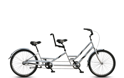 Sun Brickell tandem bike rental in New York City