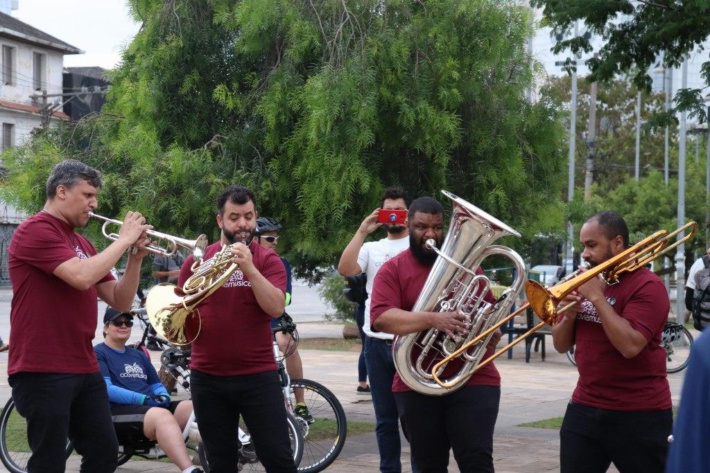 Ciclovia Musical no EBÃO | Bike Anjo São Paulo, SP