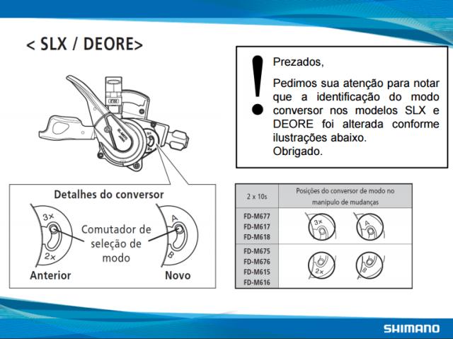 instrucao-slx-deore-3v-e-2v