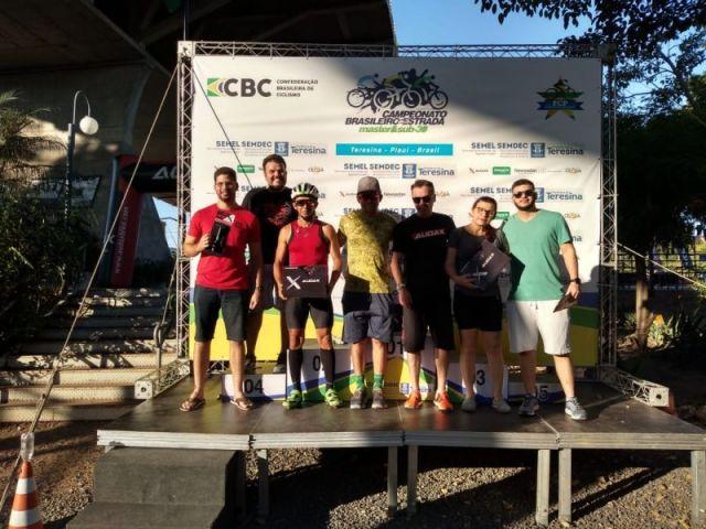 Vencedores do sorteio realizado pela Audax. Foto equipe Audax.
